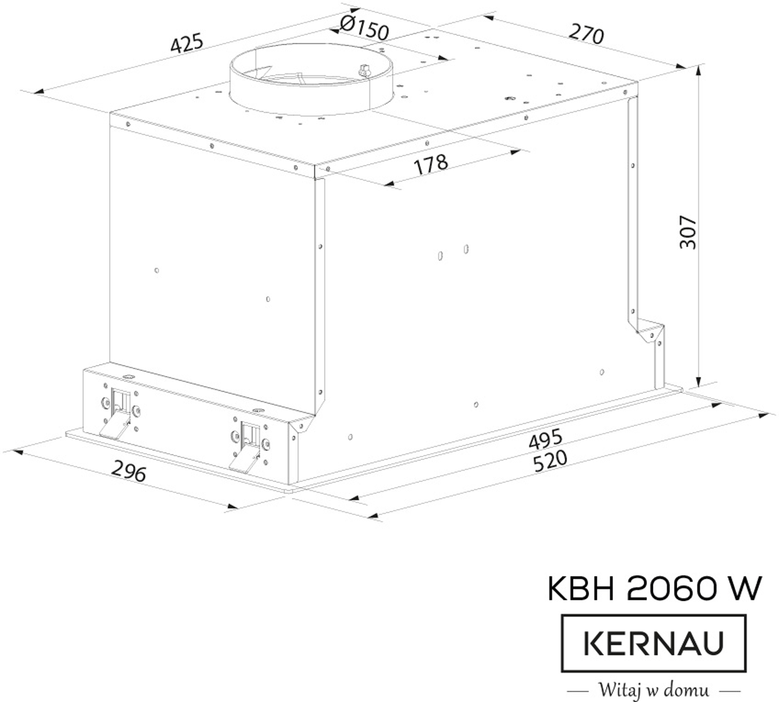 KBH 2060 W GLASS
